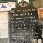 I can highly recommend the Litre of Sangria..good value for money and tasty.