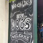 Dogs but no children