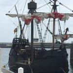 Ship docked at Funchal bay