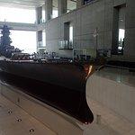 Model of Yamato, 1:10, in museum in Kure