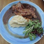 Mash with calf's liver on the side!