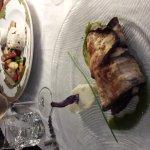 Excellent!!! Le saumon enveloppait d aubergine et Charlotte aux poires . Allez y vous y découvri