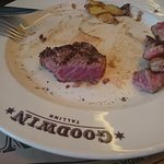 """HIGHLY MARBLED BEEF medium steak"""