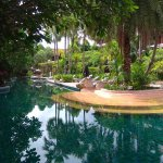 A section of the river pool at Kata Palm Resort