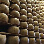 the Parmigiana-Reggiano cheese stands alone!