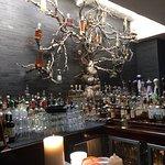 The bar at Javier's