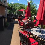 "Beautiful patio to enjoy such deliciousness!!!! ""Dishtini"" all the way!"