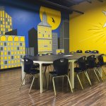 Super Hero Party Room - perfect for birthdays!