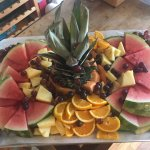 Leenies Fruit platter for a catering event. Looks yummy!