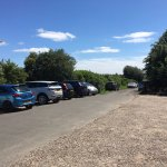 Lots of car parking available off road
