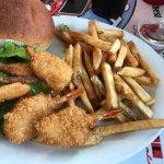 fried shrimp & fries