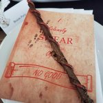 chocolate wand