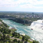 View from Skylon tower (American fall)