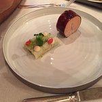 foie gras et anguille fumée