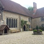 The courtyard at Ightham Mote