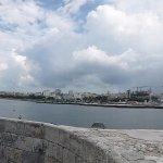 Foto desde la fortaleza hacia el Malecon