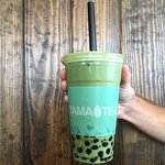 Matcha Matcha with boba