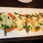 A vegan cauliflower dish was the best bet.