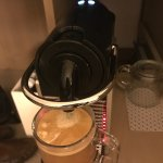 Complimentary Nespresso