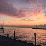 Sunset at Pere Marquette Park, Muskegon