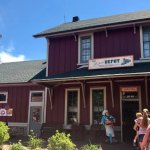 Depot restaurant in Mackinaw City, July 2017