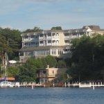 The Geneva Inn, from the lake