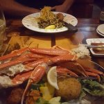 Snow Crab & Stacked Grouper