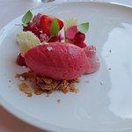 Strawberries for desert
