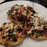 The Mav pork tostadas