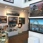 Gallery featuring Newport Artist Andrew Palmer's iconic bay bridge paintings.