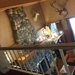 This is the entrance/lobby. The animals are pretty cool. My review is posted.. C+ hotel stay.