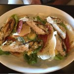 One of the most interesting looking Caesar Salads we've seen. My husband enjoyed every mouthfull