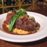 Osso Bucco - a favorite served only on Friday and Saturdays