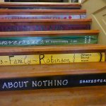 Stairs with a message
