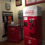 Pictures of the Coca-Cola museum and the gardens behind the home.