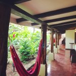 Hammocks outside every room. Would've slept here if they had mosquito nets.