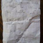 9 yaşındaki hanım misafirimizin hoş notu...   -  a very nice note from our 9 years old guest fro