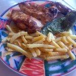 Pollo plancha
