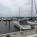 View from Lake House Restaurant next to Shoreline Inn...