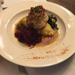 Star B Ranch Grass Fed Bison Meatloaf with Organic Potatoes, Braised Red Cabbage, Butternut-Ka