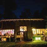 Barn Space at Night