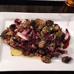 Warm Brussels Sprouts!