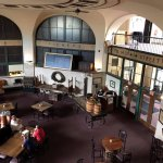 Main floor bar dining area