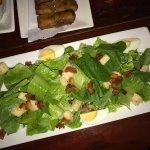 Caesar salad (I get dressing on the side)