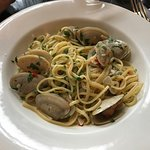 Cloudy Bay clam linguine
