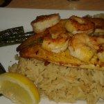 Tilapia and shrimp
