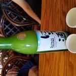 Beer, Mussels, Sushi, Sake.