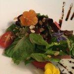 Pretty house salad