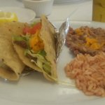Small tacos dinner