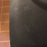 Desk chair stains